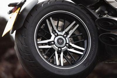Rocket 3 GT rear wheel