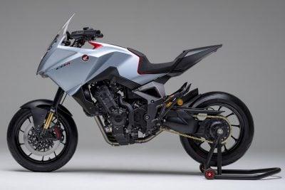 Honda CB4X First Look - left side