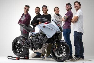 Honda CB4X First Look - Valerio Aiello