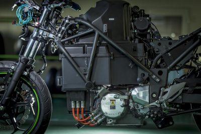 Kawasaki Electric Motorcycle - battery