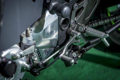Kawasaki Electric Motorcycle - transmission