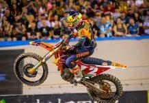 Cooper Webb in 2020 Supercross