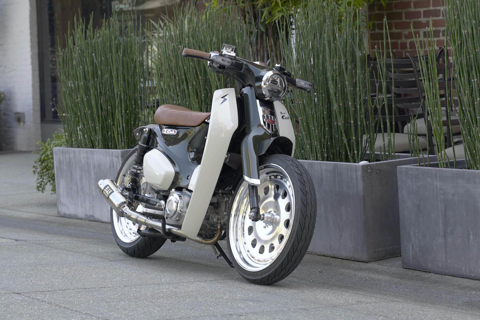 Three Must-See Unexpected Honda Customs: Cub, Monkey, CRF450L