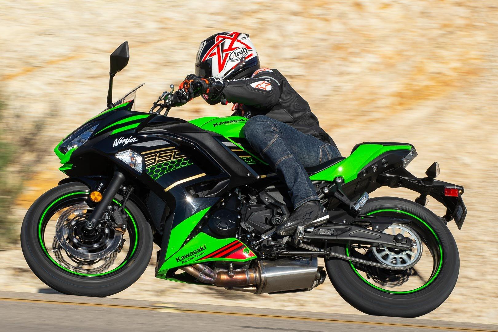 2020 Kawasaki Ninja 650 Review 14 Fast Facts Abs Krt Edition