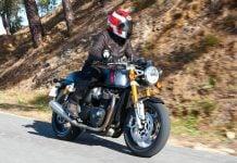 2020 Thruxton RS horsepower