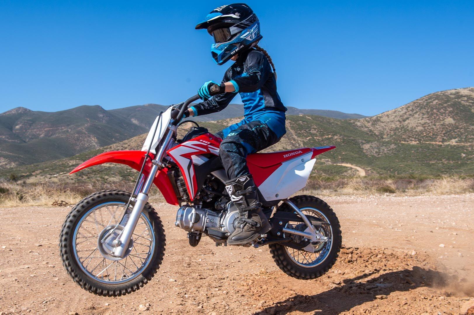 2020 Honda CRF110F test
