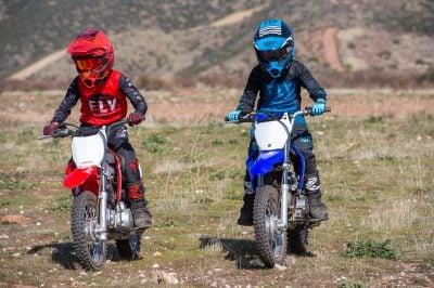 2020 Honda CRF110F vs Yamaha TT-R110E kids motocross