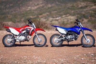 2020 Honda CRF110F vs Yamaha TT-R110E