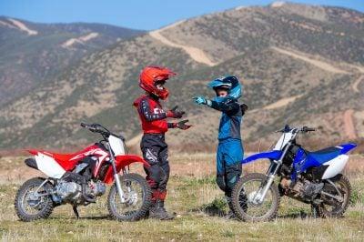 2020 Honda CRF110F vs Yamaha TT-R110E for sale