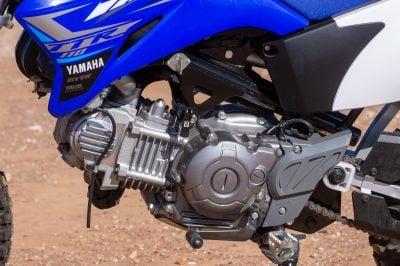 2020 Yamaha TT-R110E engine
