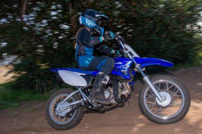 2020 Yamaha TT-R110E test