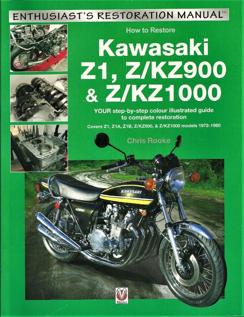 How to Restore Kawasaki Z1, Z/KZ900 and Z/KZ1000: Book Review