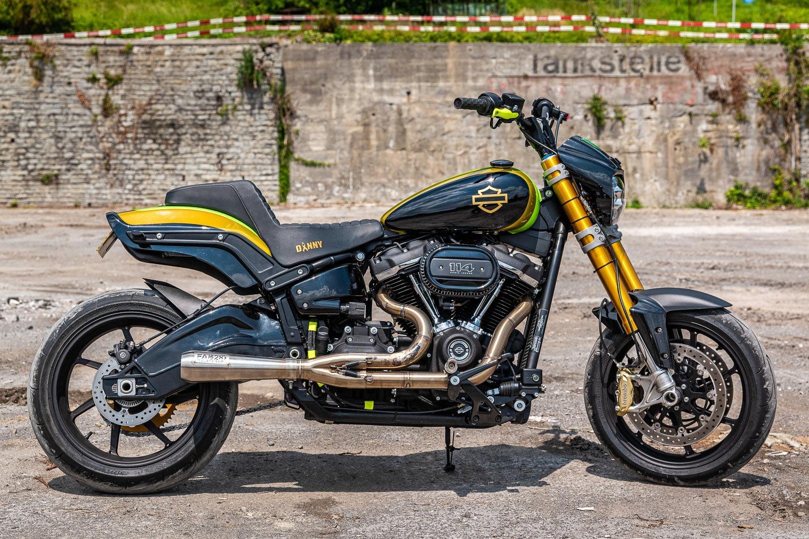 Hardnine Choppers Nuggets: Custom Harley-Davidson Fat Bob