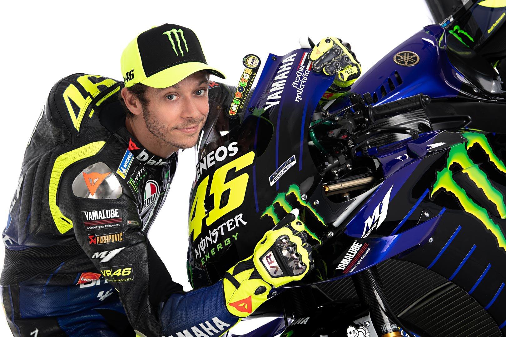 Valentino Rossi 2020 Motogp Yamaha Livery First Look 18 Photos