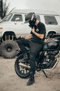 Pando Moto Karldo Kev 01 Motorcycle Jeans - location