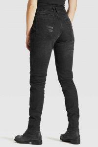 Pando Moto Kissaki Black Women's Jeans back