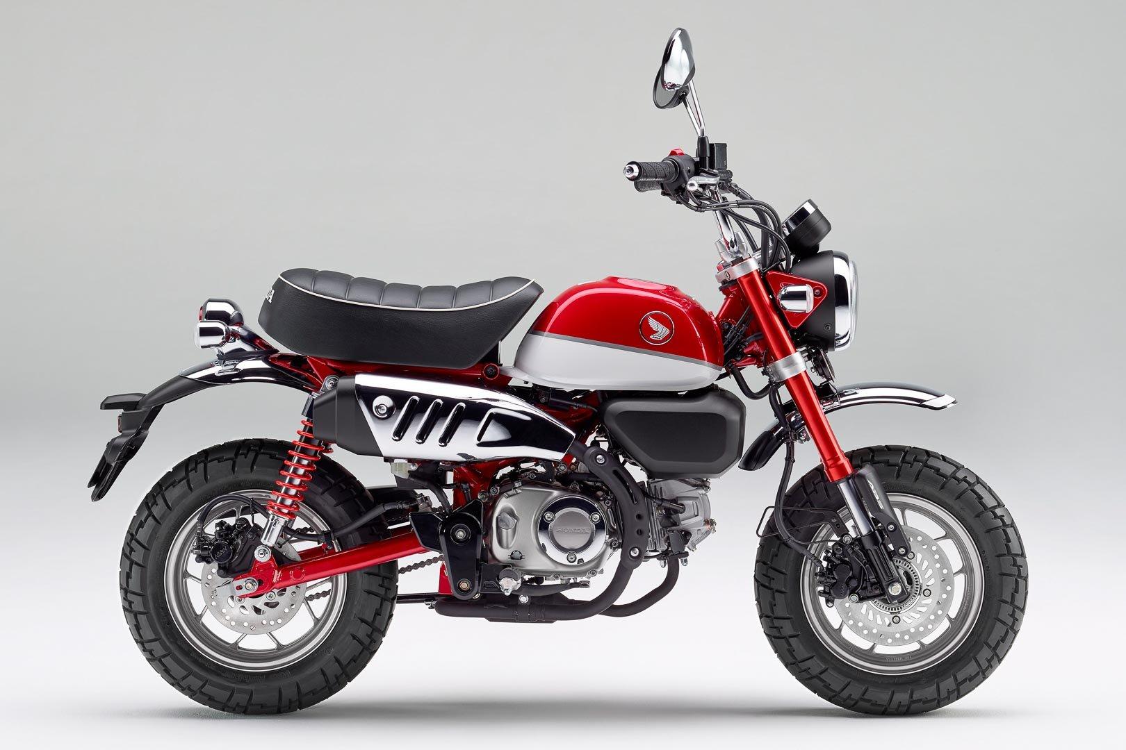 Neugestaltung und Überprüfung Honda Monkey 2021