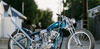 Harley-Davidson No Show Custom Motorcycle Show Winner - Panhead