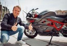 Nico Rosberg Energica Ego