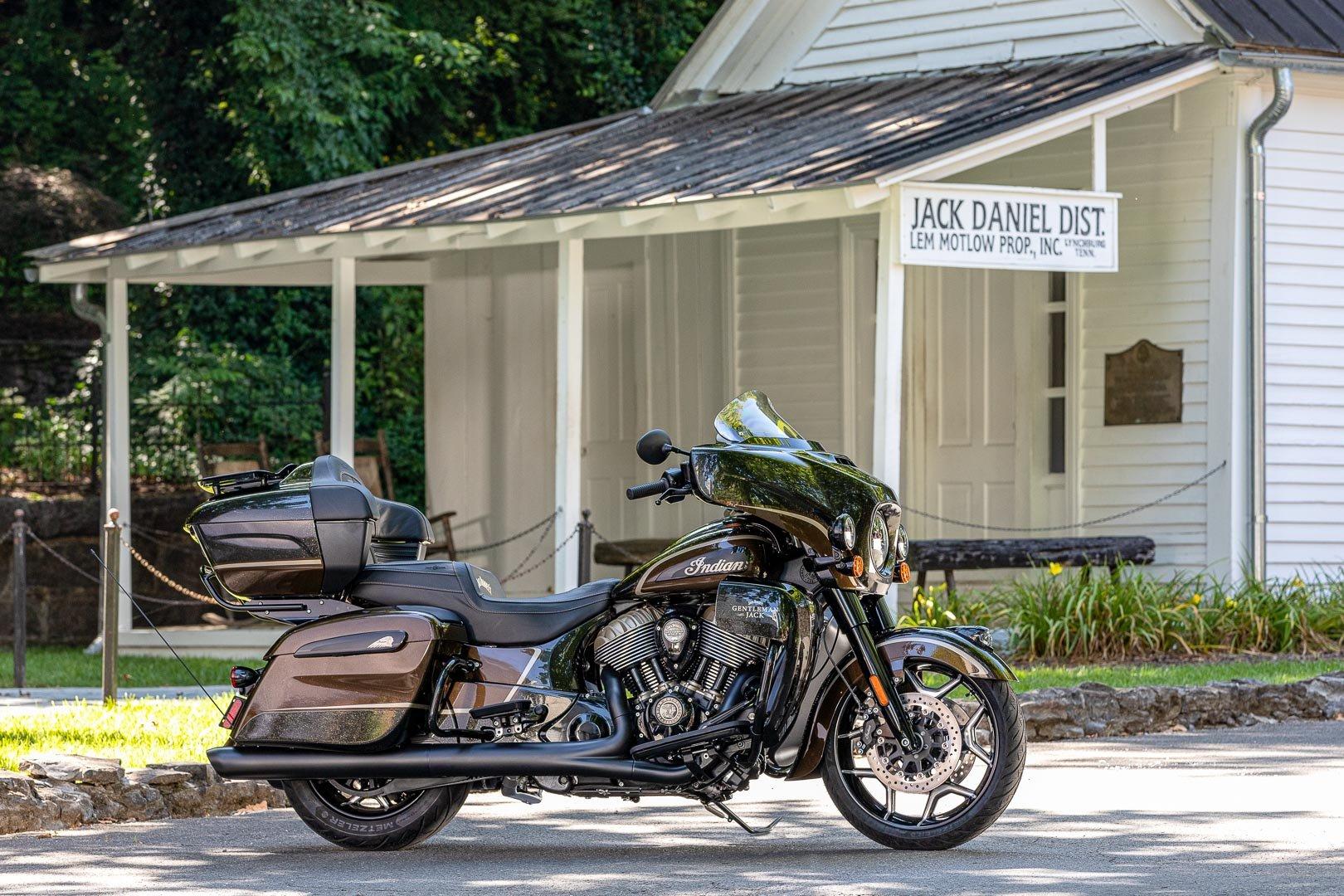 2021 Jack Daniel's Limited Edition Indian Roadmaster Dark ...